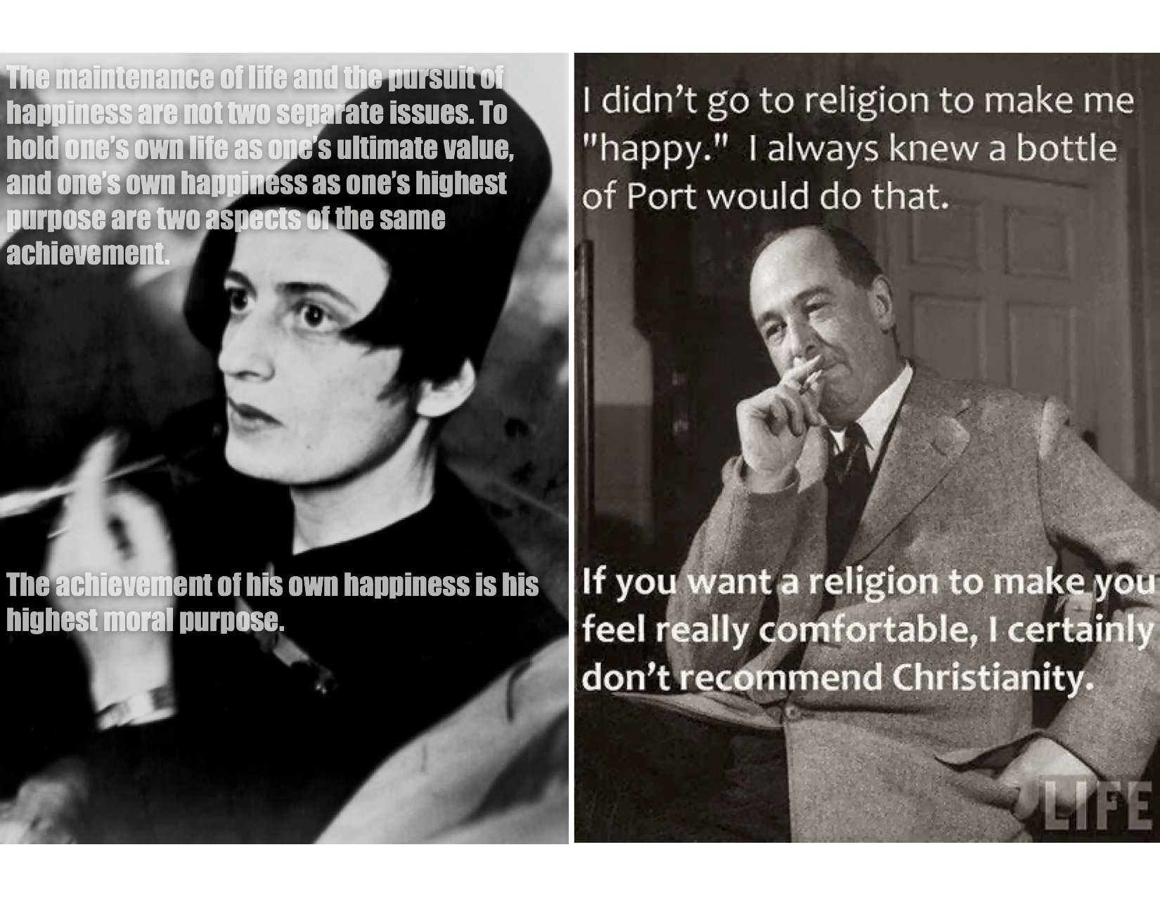 Rand Lewis Meme ayn rand, c s lewis, and objectivism a faith full life